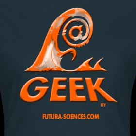 Motif ~ Geekwave femme marine-orange