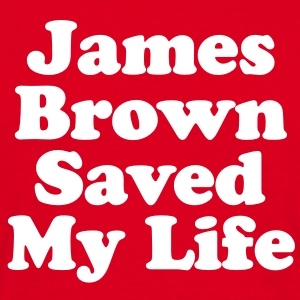 James Brown Saved My Live (White) Tee shirts - T-shirt Homme