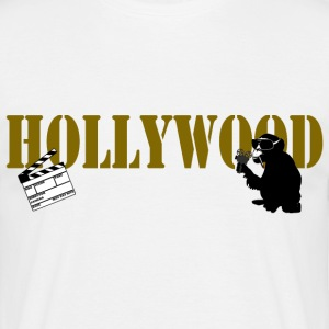 hollywood monkey T-Shirts - Männer T-Shirt