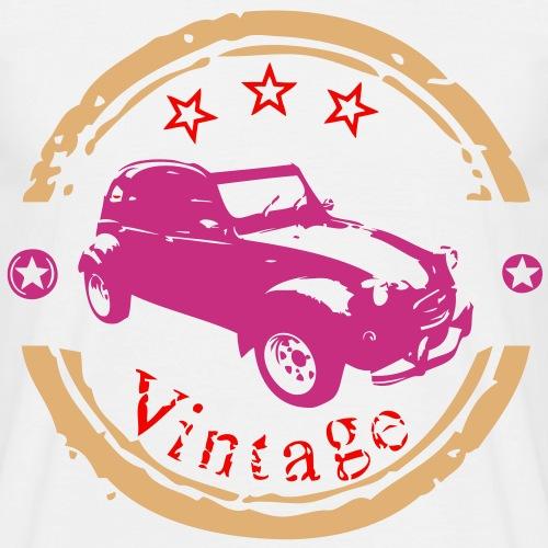 vintage vieille voiture4 3 couleurs
