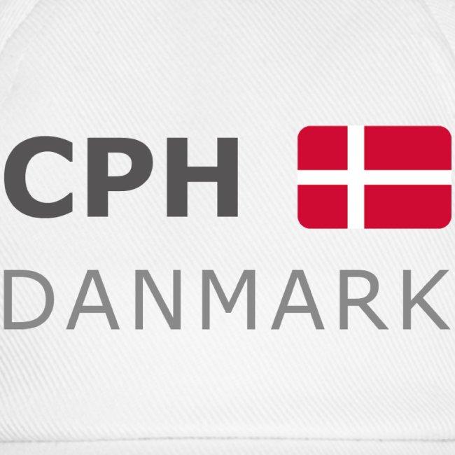 Base-Cap CPH DANMARK dark-lettered