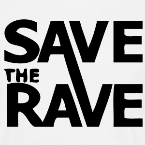 Save the Rave campaign t-shirt - Men's T-Shirt