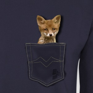 pocket fox by customstyle Sweat-shirts - Sweat-shirt Homme
