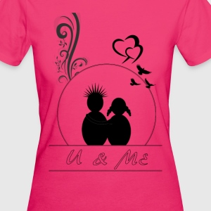 love couple - Women's Organic T-shirt