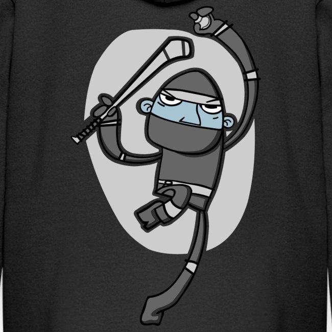 Ninja Hurler : Kids' Zip Hoody