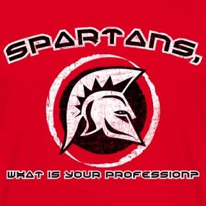 spartans1 T-Shirts - Men's T-Shirt