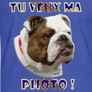 bulldog 1b by customstyle Tee shirts - T-shirt contraste Homme