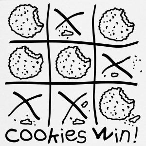 Cookies win! Kookschorten - Keukenschort