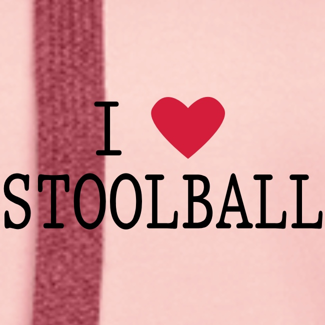 I Love Stoolball Women's Hoodie