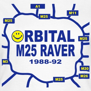 Orbital M25 Acid Hosue Raver T-Shirts - Women's T-Shirt