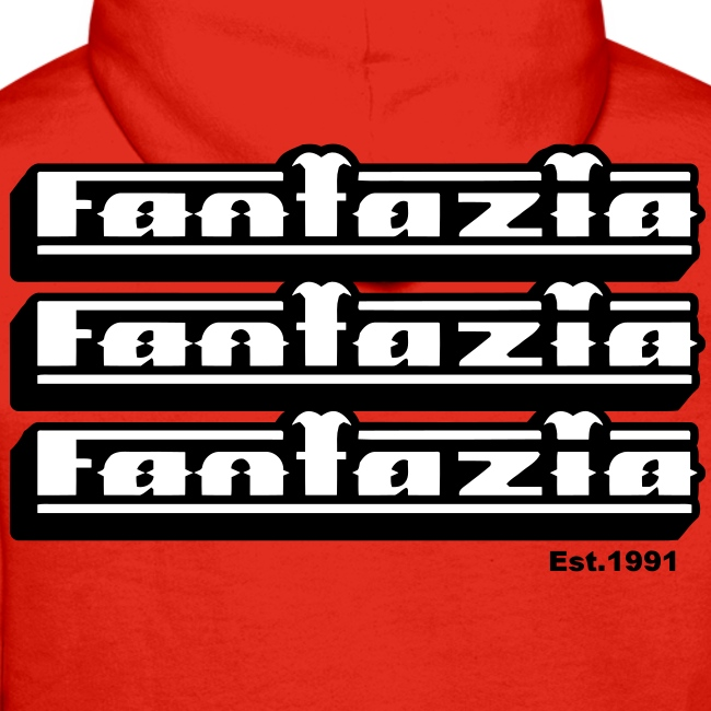Fantazia Hoodie Logos Front & Back