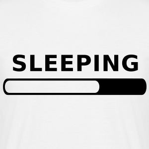 Sleeping in Progress T-Shirts - Men's T-Shirt