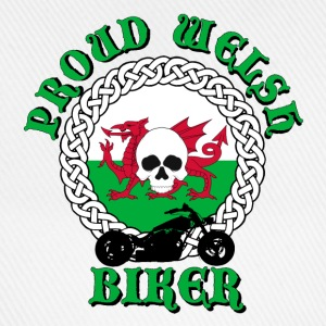 Proud Welsh Biker Caps & Hats - Baseball Cap