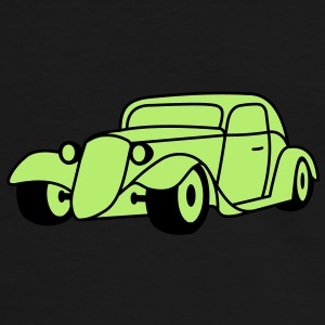 2 colors - Hot Rod Oldtimer Custom Cars Automobil Tuning Camisetas - Camiseta contraste hombre