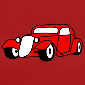 3 colors - Hot Rod Oldtimer Custom Cars Automobil Tuning Camisetas - Camiseta ecológica mujer