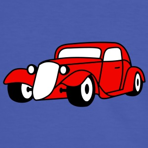 3 colors - Hot Rod Oldtimer Custom Cars Automobil Tuning Camisetas - Camiseta contraste hombre