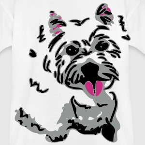 Westie Terrier hund - Teenager T-Shirt