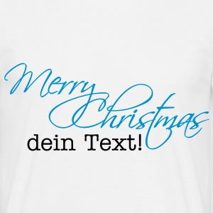 Merry Christmas T-Shirts - T-skjorte for menn
