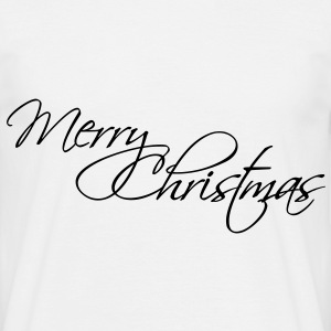 Merry Christmas T-Shirts - T-shirt herr