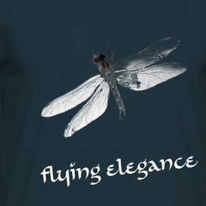 Dragonfly - Herre-T-shirt