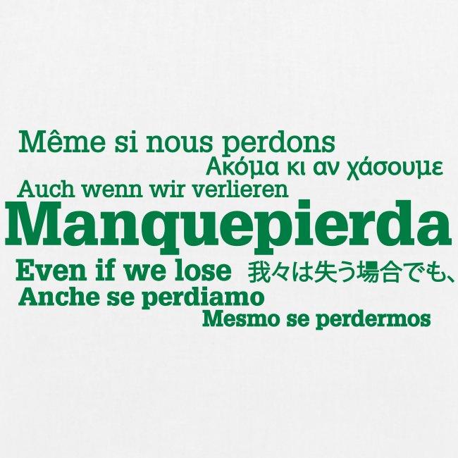 "Bolsa ""Manquepierda Universal"""