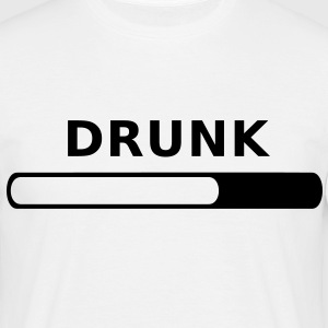 Drunk in Progress T-Shirts - Men's T-Shirt