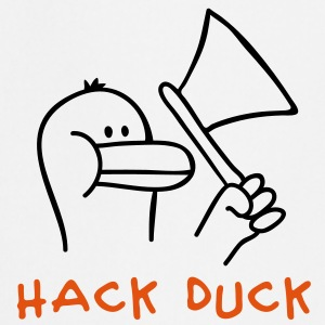 Hack Duck Kookschorten - Keukenschort