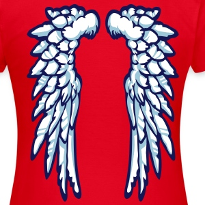Girly Wings - Vrouwen T-shirt