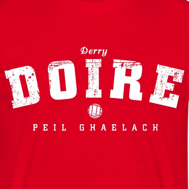 Vintage Derry Gaelic Football T-Shirt