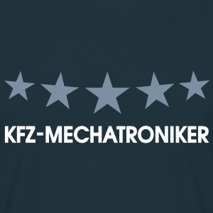 KFZ Mechatroniker, Mechaniker. T-Shirts, navy blau - Männer T-Shirt