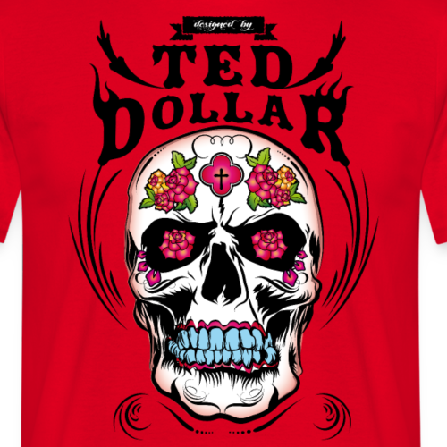 Ted's Mexican skull