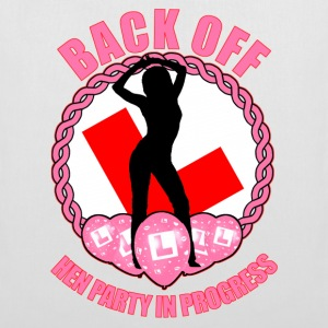 Hen Party: Back Off Bags  - Tote Bag