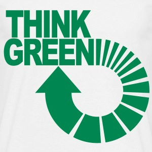 think green T-Shirts - T-shirt herr