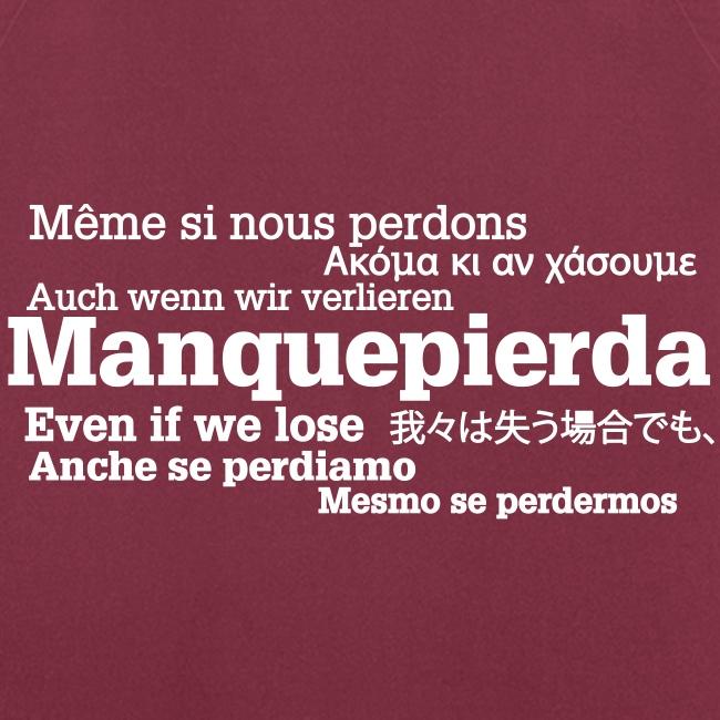 """Delantal """"Manquepierda Universal"""""""