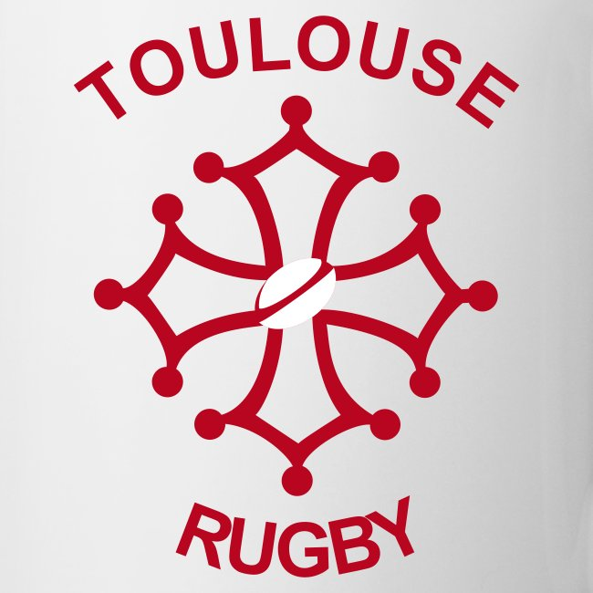 Tasse Toulouse Rugby rouge