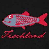 Motiv ~ Hering mit Schriftzug »Fischland«