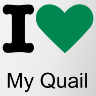 Design ~ I Love My Quail Logo Mug