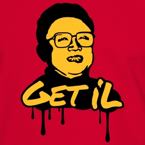 Get Il - Kim Jong Il Tee shirts - T-shirt contraste Homme