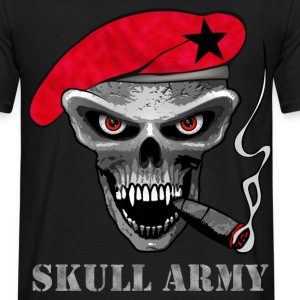 skull soldier  Tee shirts - T-shirt Homme