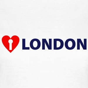 I LOVE LONDON VELVET EDITION - Women's T-Shirt