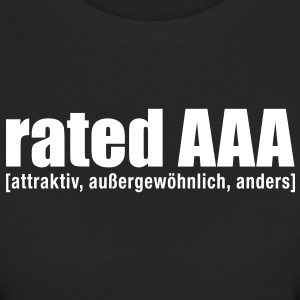 rated aaa T-Shirts - Frauen Bio-T-Shirt