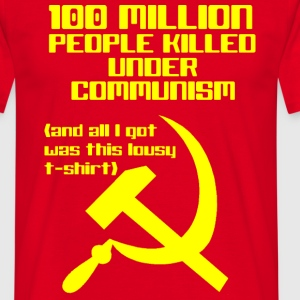 Communism T-Shirts - Men's T-Shirt