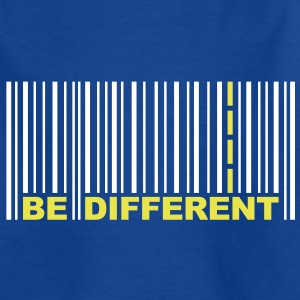 Be Different - Bar code Kids' Shirts - Teenage T-shirt