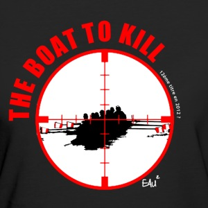 The Boat to Kill Tee shirts - T-shirt Bio Femme