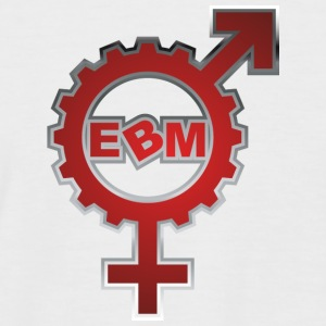 EBM Logo 15 - Men's Baseball T-Shirt