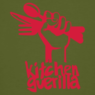 Design ~ Kitchen Guerilla klimaneutrales Shirt - Männer / englisch