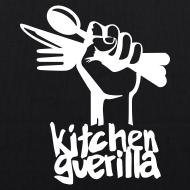 Design ~ Kitchen Guerilla Bio-Stofftasche / englisch