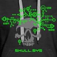 Design ~ Skull.sys neon green/grey