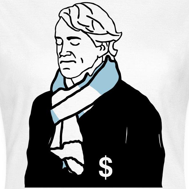 Moneybags Mancini - Women's T-Shirt