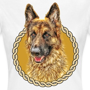 German Shepherd (Alsation) 001 - Women's T-Shirt